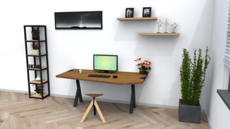 Combideal: Organic verstelbare werktabel + Wigli One